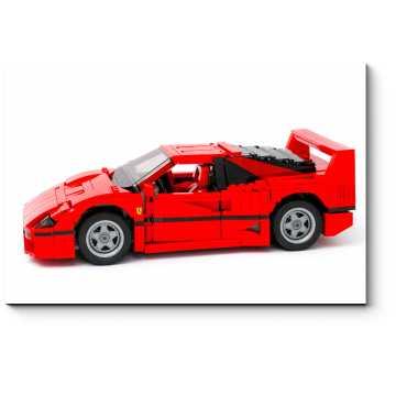 Модульная картина Лего Ferrari F40