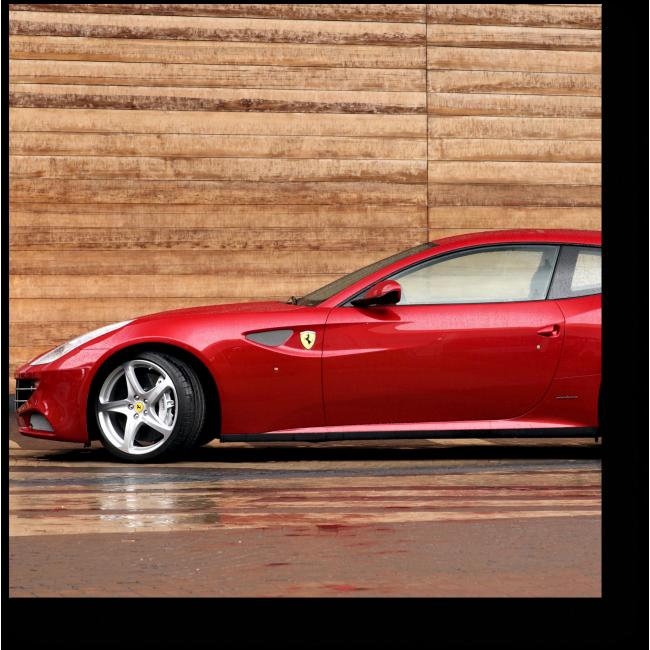 Модульная картина FERRARI FF спортивный автомобиль