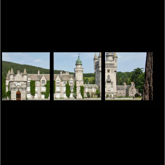 Модульная картина Замок Балморал в Шотландии