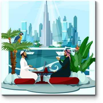 Ланч в Дубае