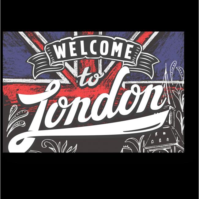 Модульная картина Добро пожаловать в Лондон