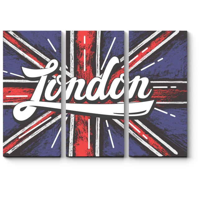 Модульная картина Британская столица