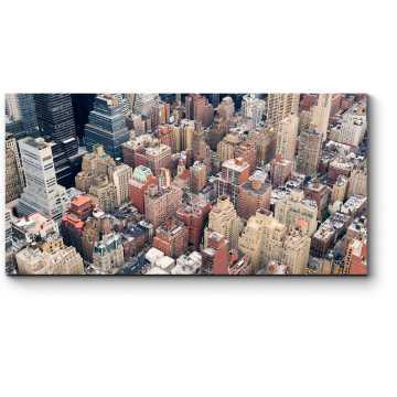 Модульная картина Городской пейзаж Нью-Йорка