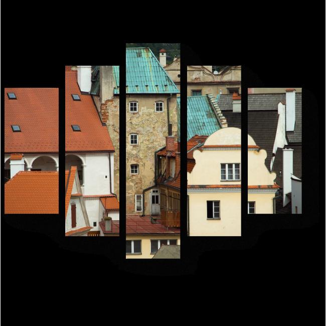 Модульная картина Европейский стиль