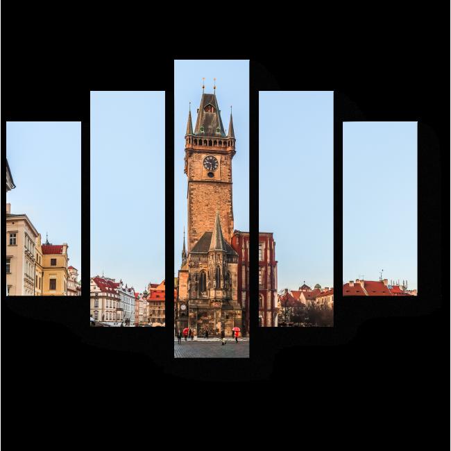 Модульная картина Прага