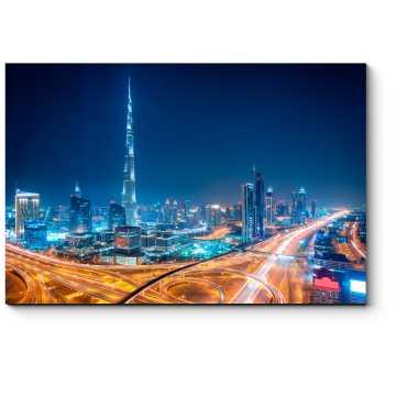 Ночь в Дубае