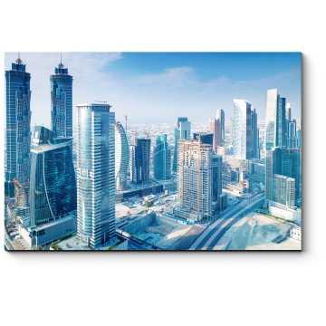 Великолепный вид Дубая