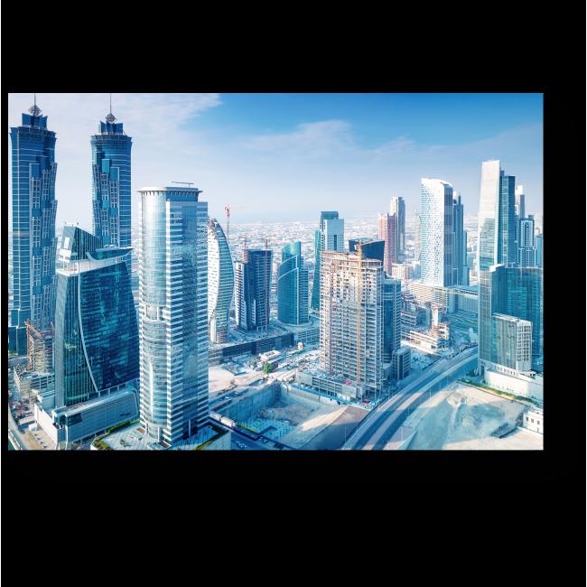 Модульная картина Великолепный вид Дубая