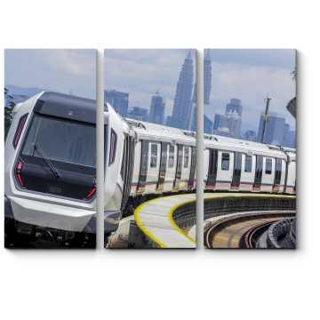 Модульная картина Транспорт для будущего поколения