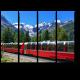 Экспресс пересек Альпы