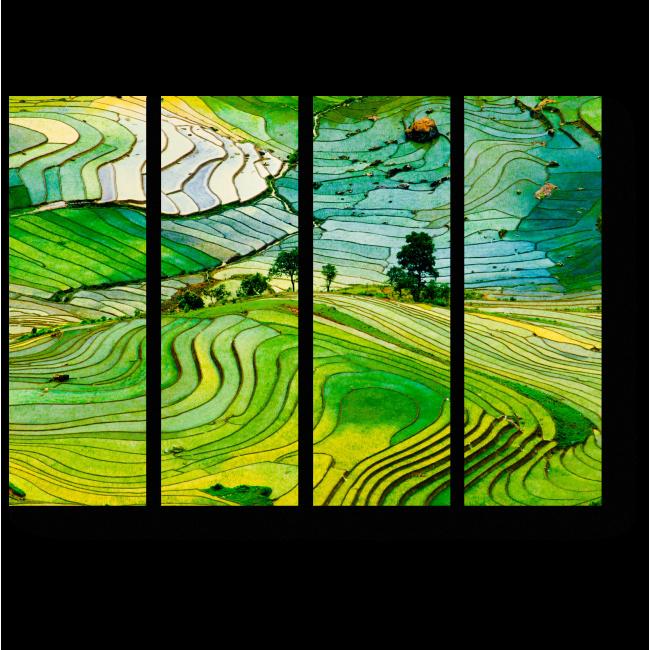Модульная картина В провинции Вьетнама