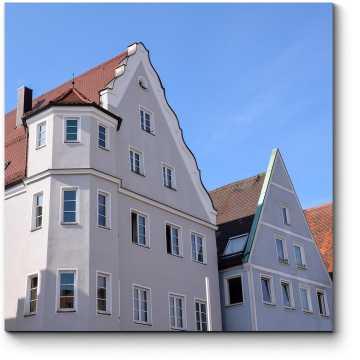 Модульная картина Классическая архитектура Европейской деревни