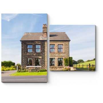 Модульная картина Старый английский дом
