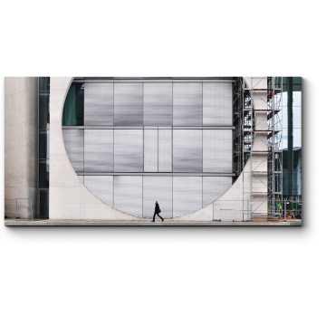 Модульная картина Дом Мари Элизабет Людерс в Берлине