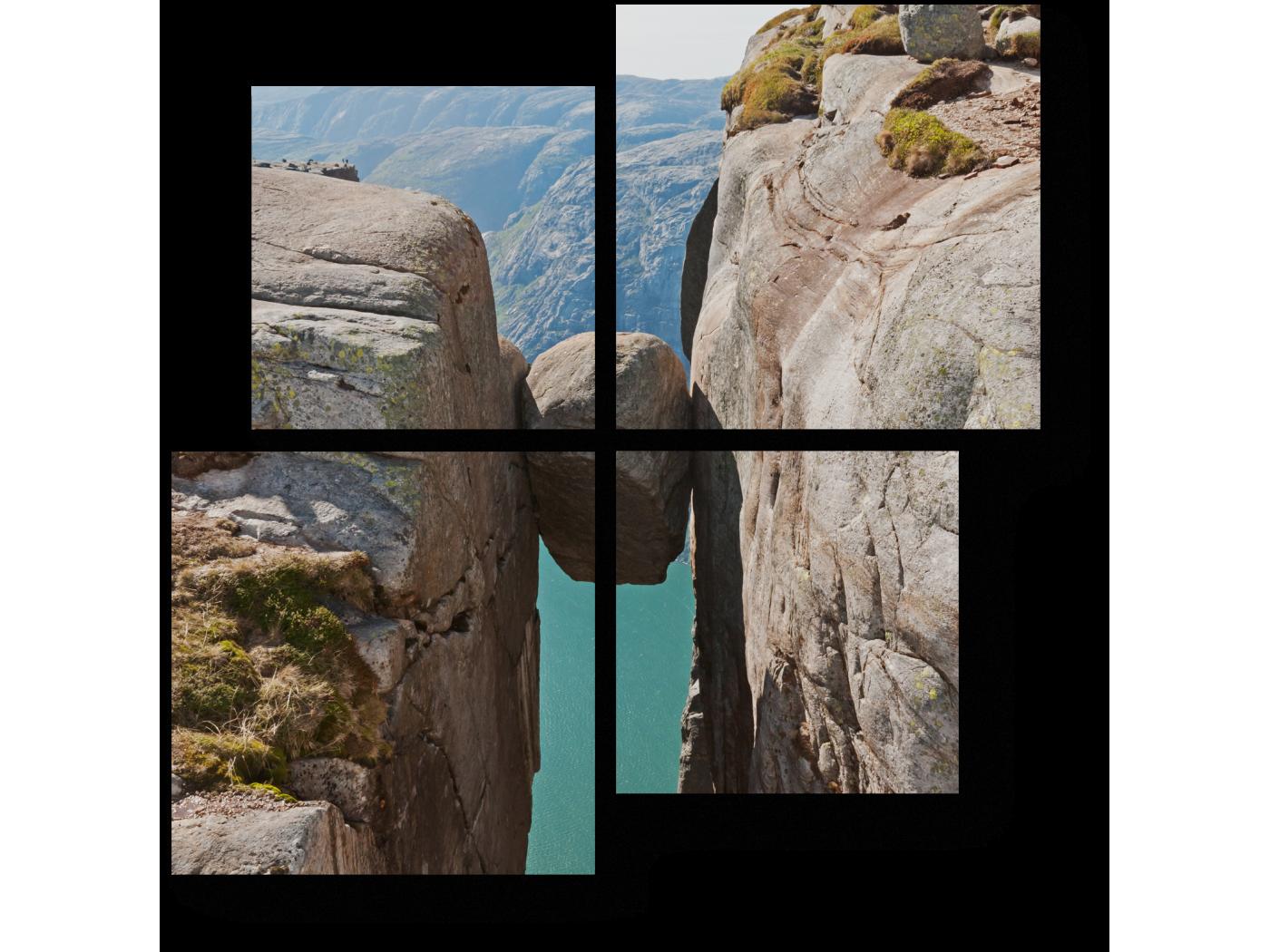 Модульная картина Магнит для любителей острых ощущений (50x50) фото