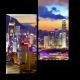 Красочный Гонконг в лучах закатного солнца