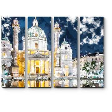 Вечерний Карлсплац, Вена