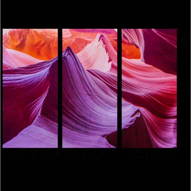 Модульная картина Аризонский каньон