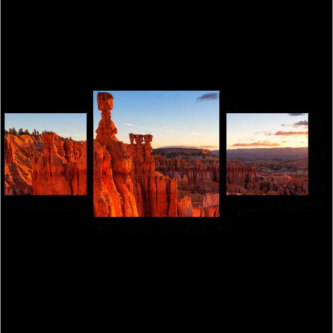 Модульная картина Каньон, США