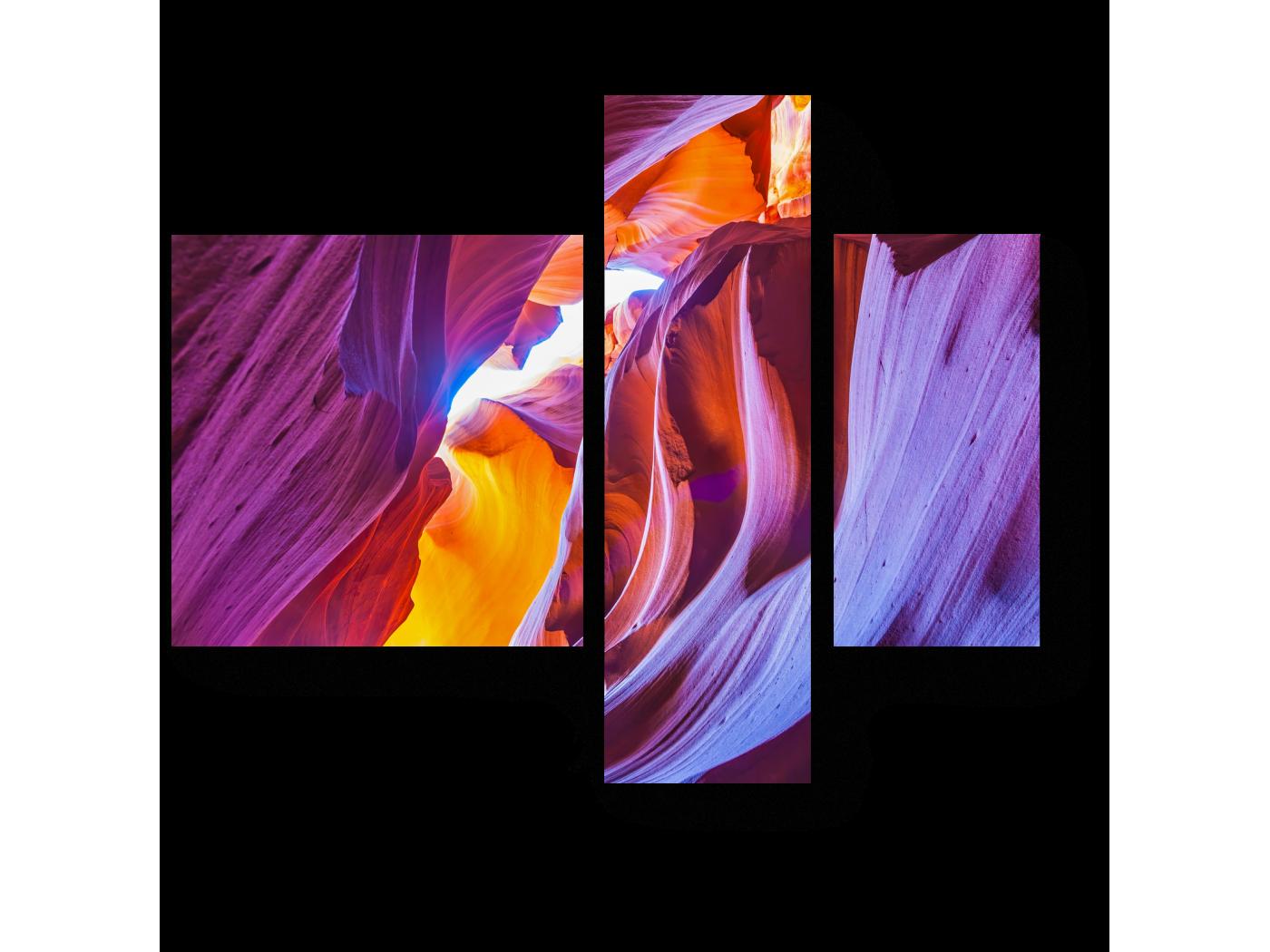 Модульная картина В сердце каньона (80x66) фото