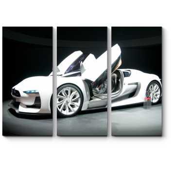Модульная картина Концепт-кар в Женевском автосалоне