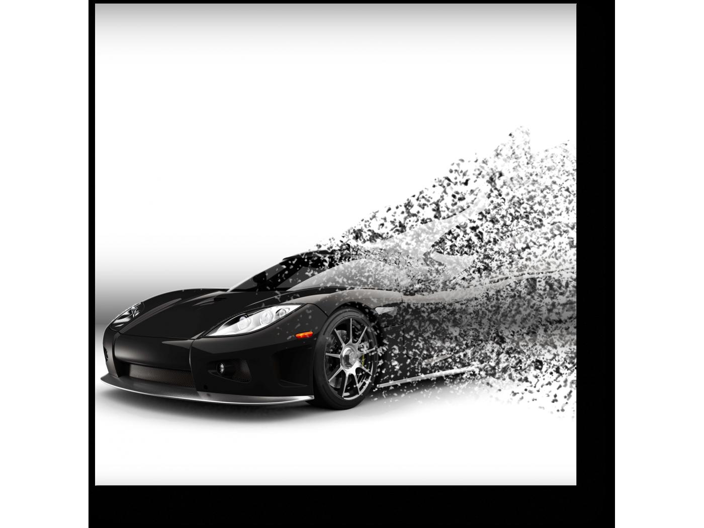 Модульная картина 3d иллюстрации (20x20) фото