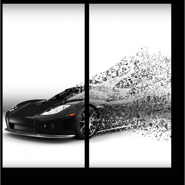 Модульная картина 3d иллюстрации