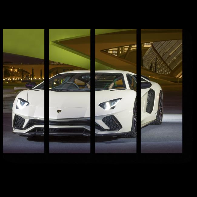 Модульная картина Lamborghini Aventador