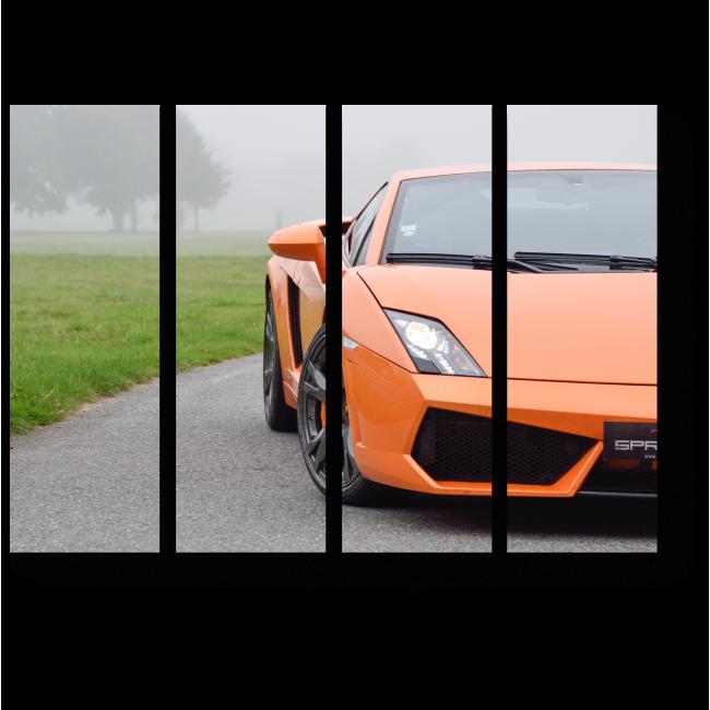 Модульная картина Lamborghini Gallardo