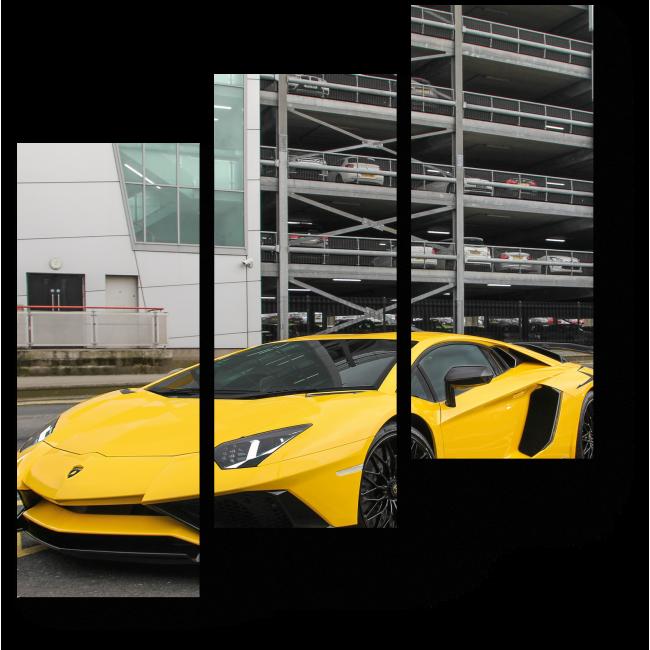 Модульная картина Lamborghini Aventador Super Veloce