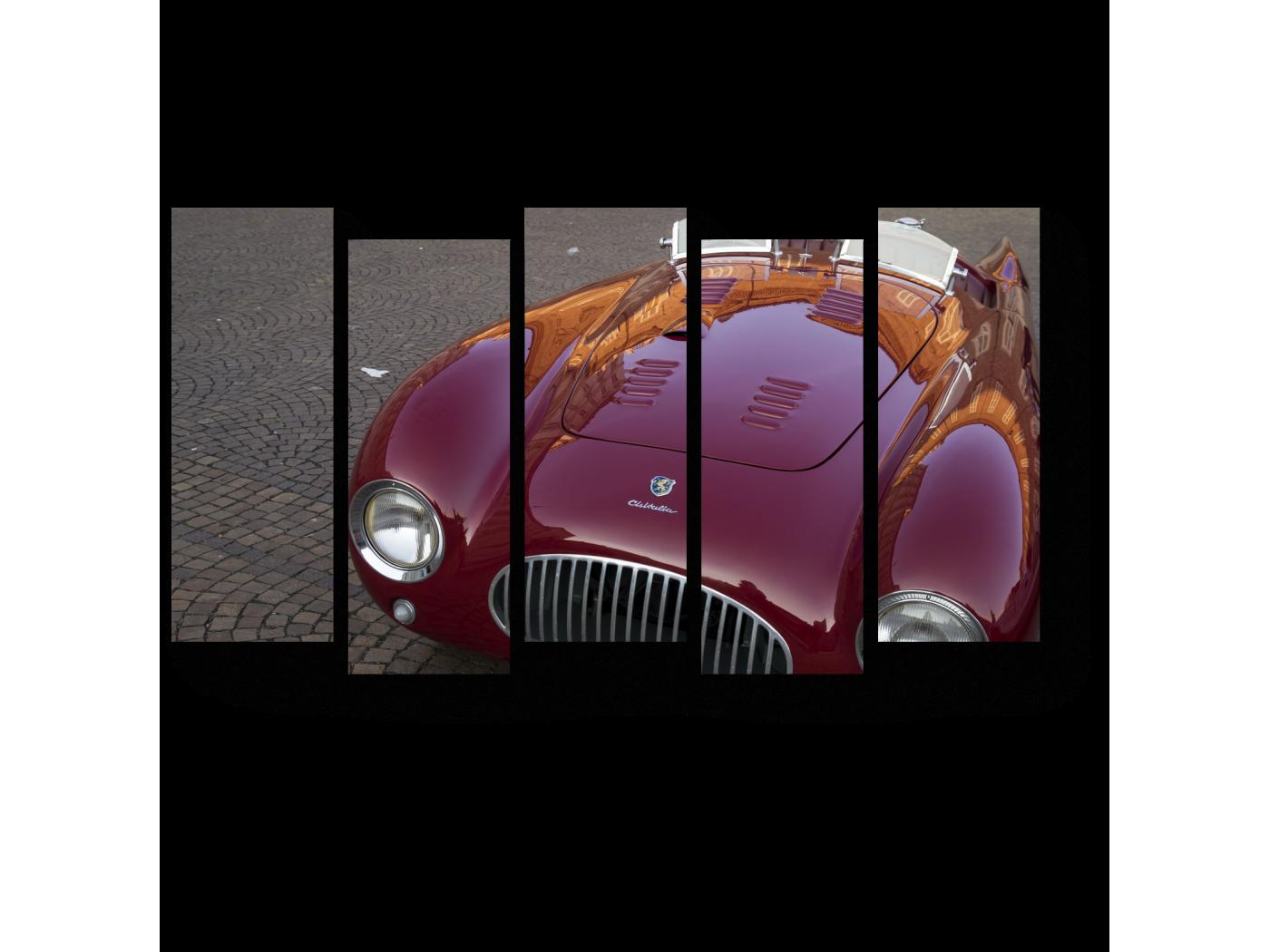 Модульная картина Элегантный Ламборгини (90x52) фото