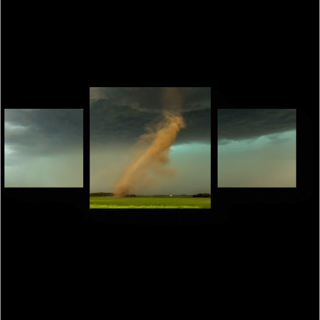 Модульная картина Торнадо