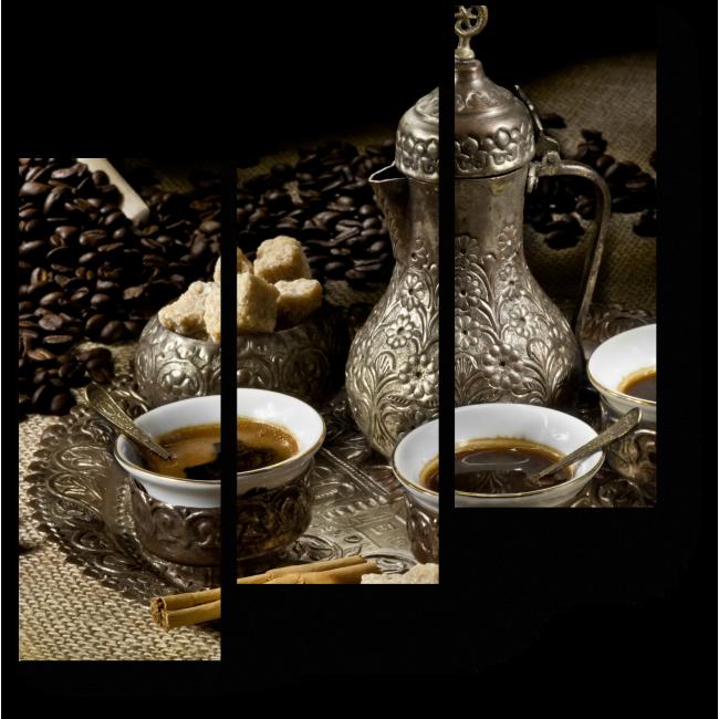 Модульная картина Кофе-брейк по-восточному