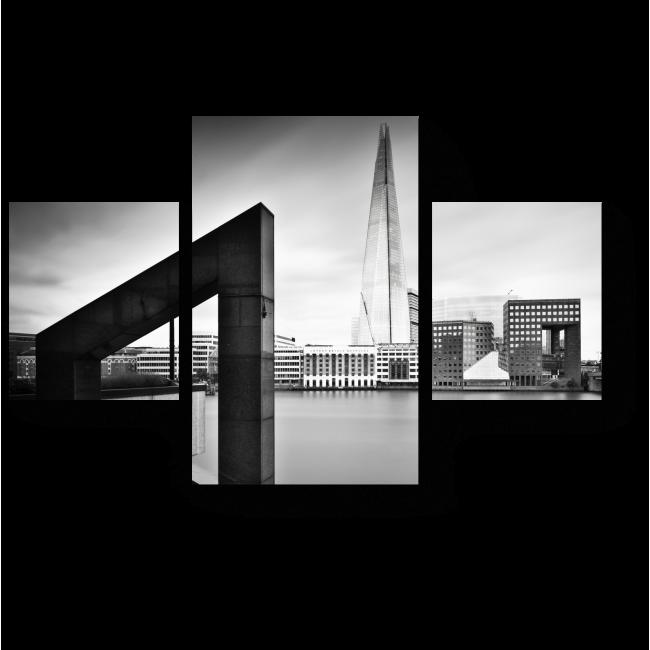 Модульная картина Геометрия Лондона