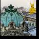 Вид на Париж с крыши Оперы