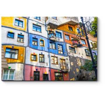 Красочные улочки Вены