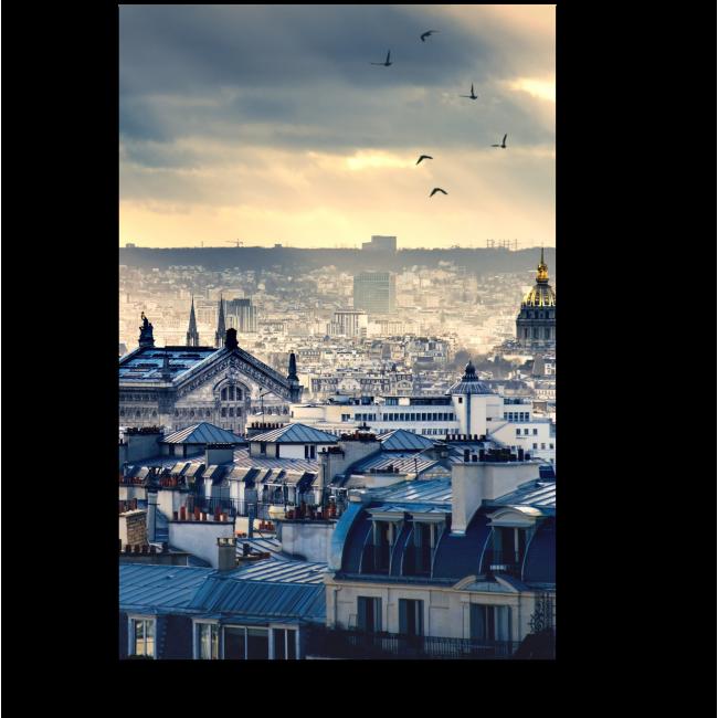Модульная картина Великолепный Париж