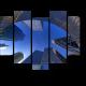 Зеркало парижских небоскребов