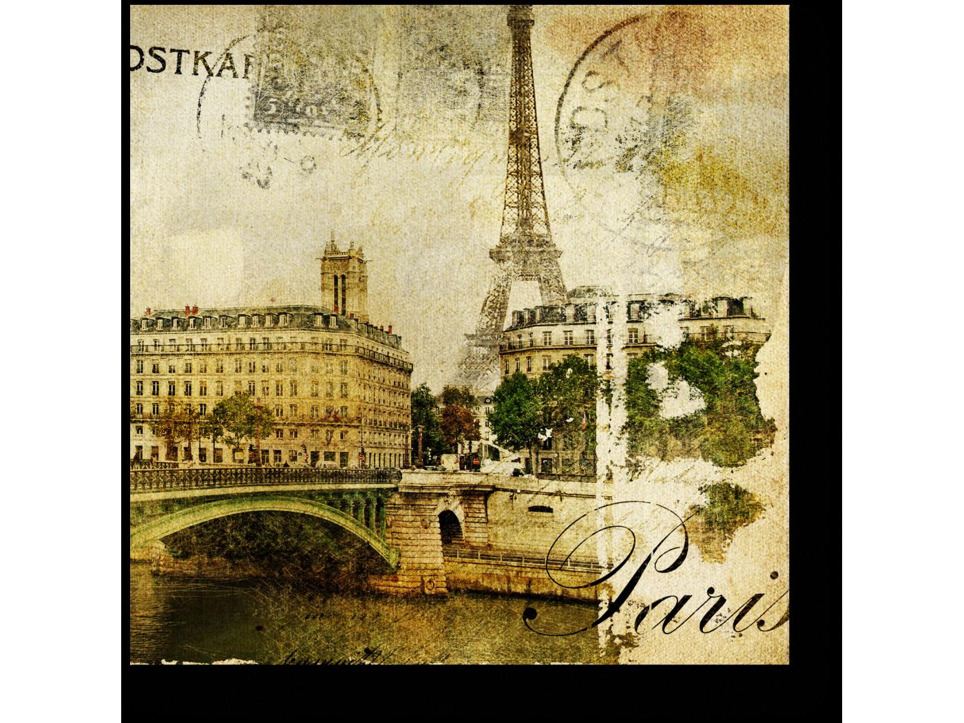 Открытки город париж