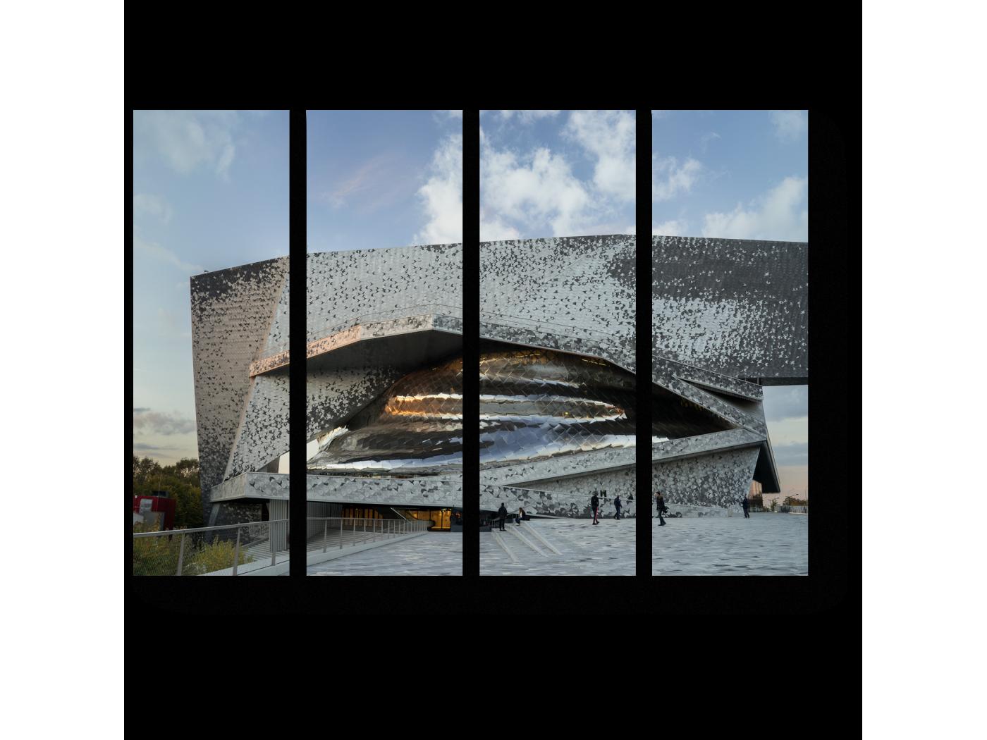 Модульная картина Новый взгляд на Париж (60x45) фото