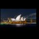 Огни ночного Сиднея