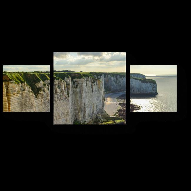 Модульная картина Меловые скалы Этрета