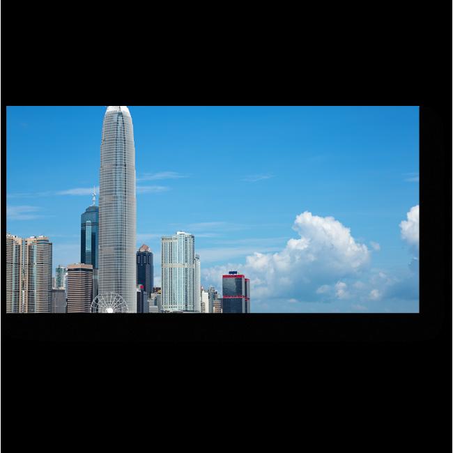 Модульная картина Небоскребы Гонконга