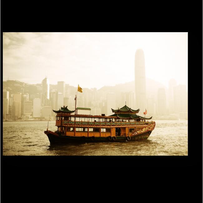 Модульная картина На пути в Гонконг