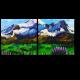 Горы, нарисованные маслом