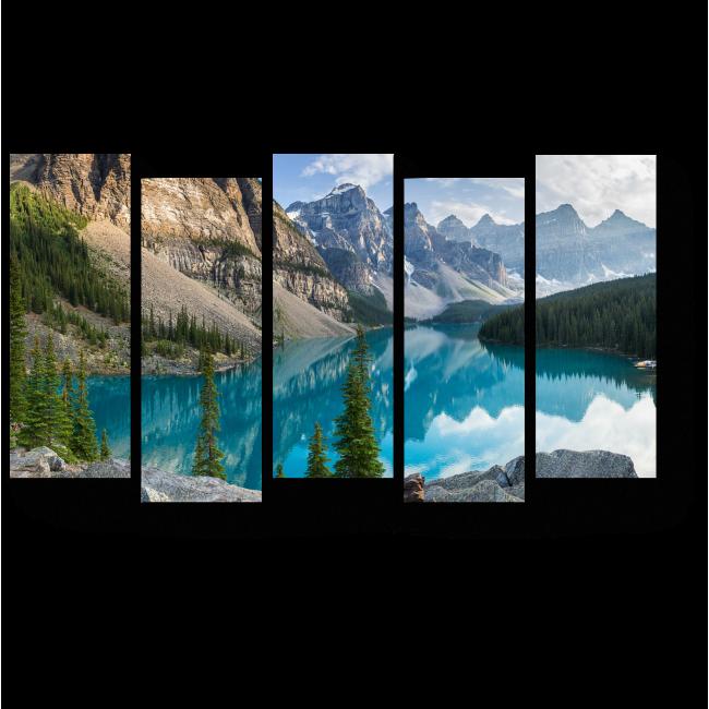 Модульная картина Скалистые горы