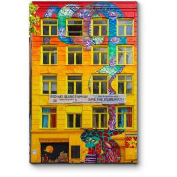 Модульная картина Искусство улиц Амстердама