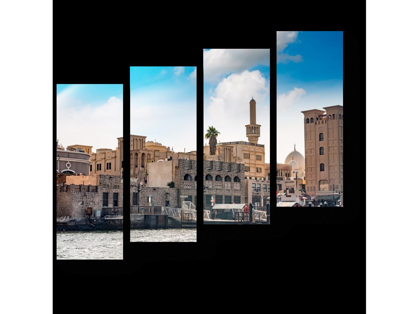 Модульная картина Жаркий Дубай (80x69) фото
