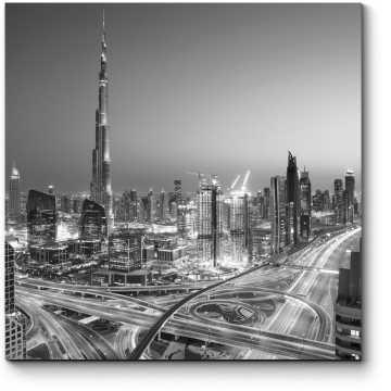 Монохромный Дубай
