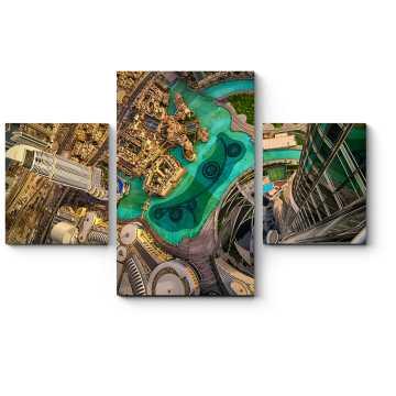 Модульная картина Головокружительный Дубай